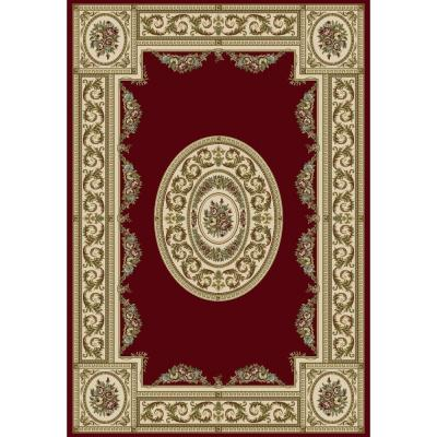 Winifred Red/Ivory 9 ft. 2 in. x 12 ft. 10 in.