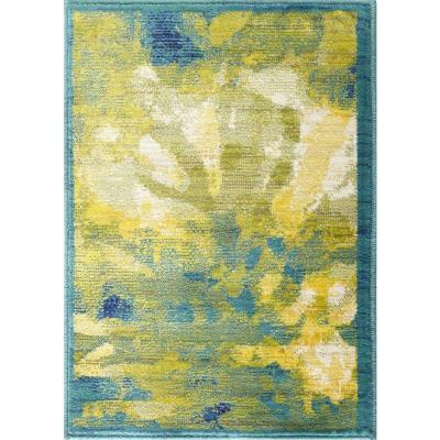Loloi Rugs Lyon Lifestyle Collection Greengage 2 ft. x 3 ft. Accent Rug