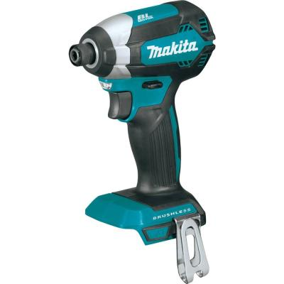 Makita 18-Volt LXT Lithium-Ion Brushless 1/4 in. Cordless Impact Driver (Tool Only)