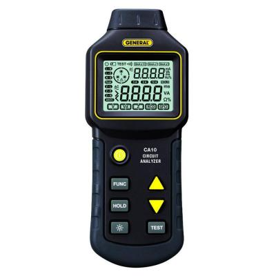 General Tools AC Circuit Analyzer with LCD Display