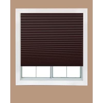 Chocolate Brown Paper Pleated Shade (4-Pack)