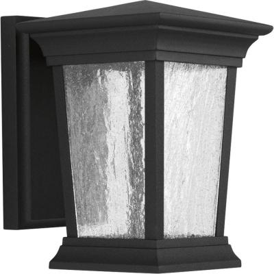 Arrive Collection 1-Light Black LED Wall Lantern Product Photo