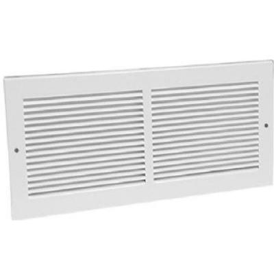 20 in. x 8 in. White Return Air Grille