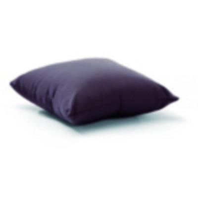 18 in. Square Laguna Gray Outdoor Throw Pillow
