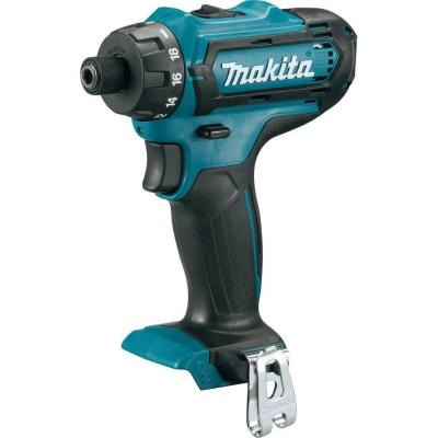 Makita 12-Volt CXT Lithium-Ion 1/4 in. Hex Cordless Driver-Drill (Tool-Only)