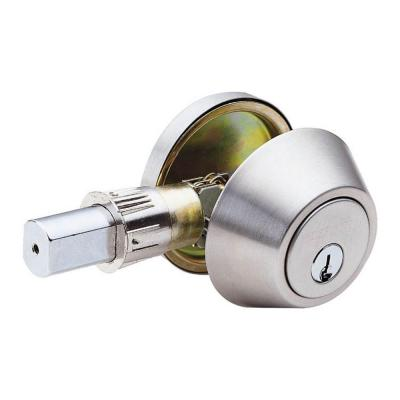 Faultless Mobile Home Single Cylinder Stainless Steel Deadbolt