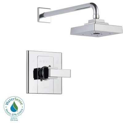 Arzo Single-Handle 1-Spray Shower Faucet Trim Kit Only in Chrome (Valve Not Included) Product Photo