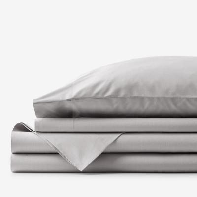 Company Essentials Solid 200-Thread Count Organic Cotton Percale Sheet Set
