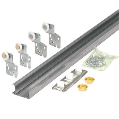 Prime line bypass closet door track kit - Barn door track hardware home depot ...