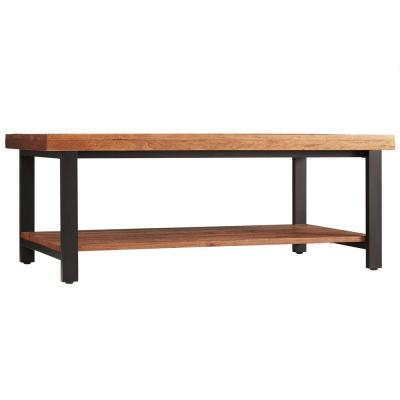 Buckner Rustic Industrial 4 ft. Oak Cocktail Table Product Photo