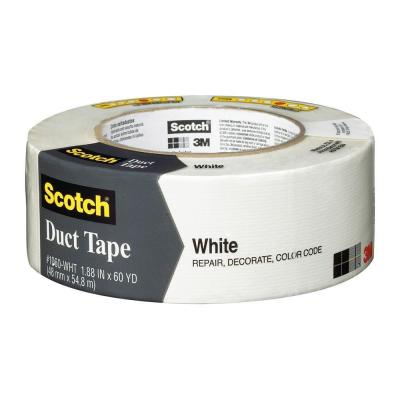 3M Scotch 1.88 in. x 60 yds. White Duct Tape