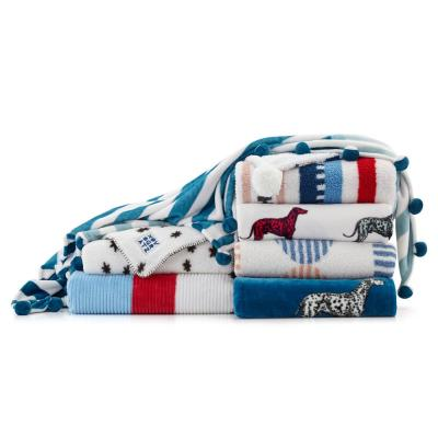 Ultra Soft Plush Sherpa Reverse Throw Blanket