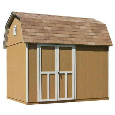 Briarwood 10 ft. x 8 ft. Wood Storage Shed with Floor Product Photo
