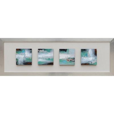 Yosemite Home Decor 16 in. x 59 in. Cool Movement Hand Painted Contemporary Artwork-DISCONTINUED