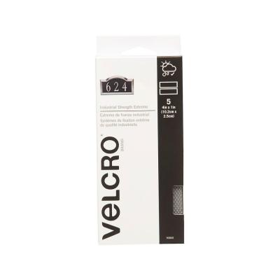 VELCRO brand 4 in. x 1 in. Extreme Titanium Strips (5-Pack)