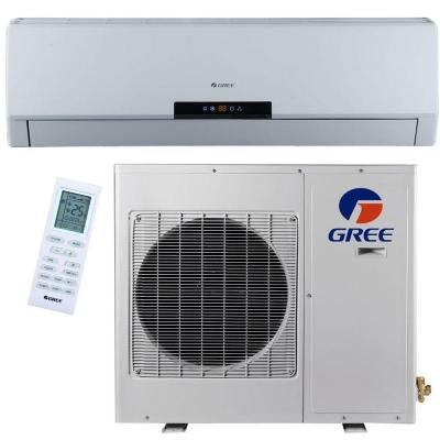 Premium Efficiency 12,000 BTU (1 Ton) Ductless (Duct Free) Mini Split Air Conditioner with Inverter, Heat, Remote 115V Product Photo