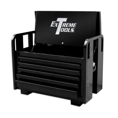 Extreme Tools 36 in. 5-Drawer Standard Road Box, Textured Black