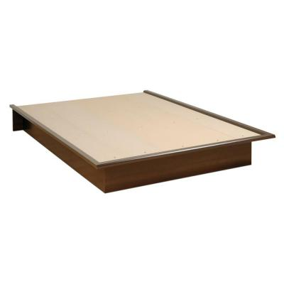 Espresso Queen Platform Bed Product Photo