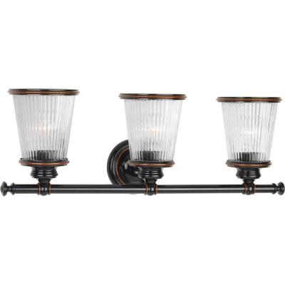 Radiance Collection 3-Light Rubbed Bronze Vanity Light