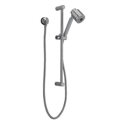 FloWise Modern 3-Spray Wall Bar Shower Kit in Satin Nickel Product Photo
