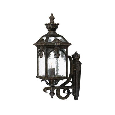 Acclaim Lighting Belmont Collection Wall-Mount 1-Light Outdoor Black Coral Light Fixture