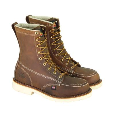 Men's American Heritage Crazy Horse 8'' Work Boots - Steel Toe