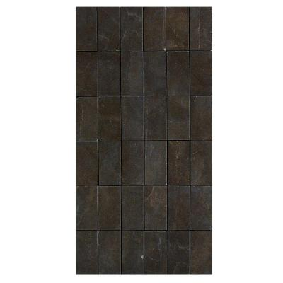 U S Ceramic Tile Avila 12 In X 24 In Marron Porcelain Mosaic Tile Discontinued Fh10235251 At