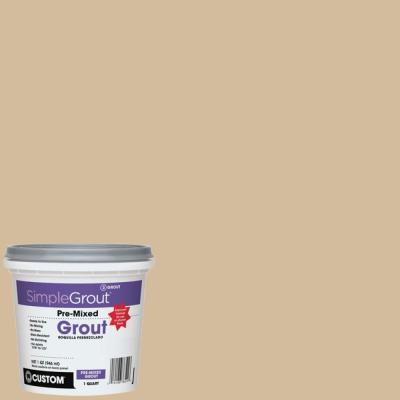 Custom Building Products SimpleGrout #122 Linen 1 Qt. Pre-Mixed Grout
