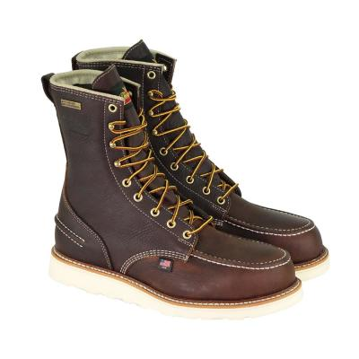 1957 Series Men's Briar Pitstop Leather 8 in. Safety Toe Maxwear Wedge Work Boots