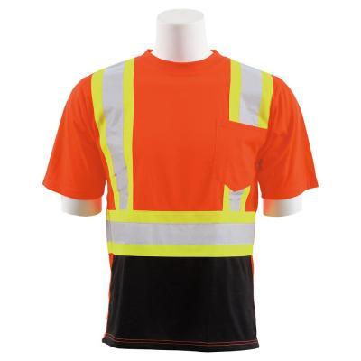 9604SBC HVO/Black Polyester Safety T-Shirt
