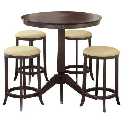 Tiburon 5-Piece Pubinstyle Dining Table Set Product Photo