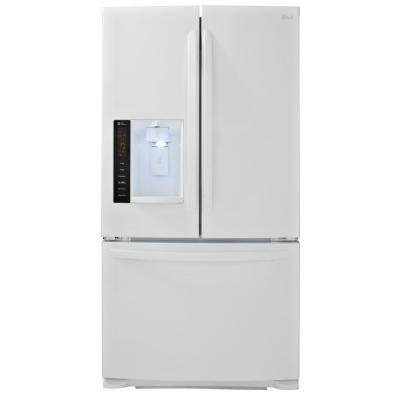 LG Electronics 24.1 cu. ft. French Door Refrigerator in White