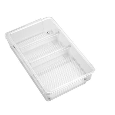 Linus Expandable Drawer Organizer in Clear