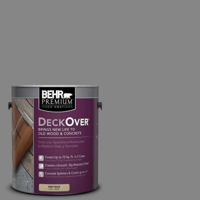 BEHR Premium DeckOver 1-gal. #PFC-63 Slate Gray Wood and Concrete Coating