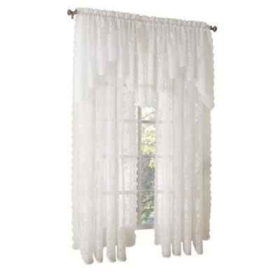 Ivory Alison Lace Curtain Panel, 58 in. W x 63 in. L Product Photo