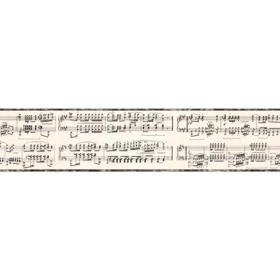 York Wallcoverings 6 in. Musical Note Border