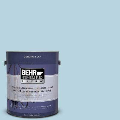 BEHR Premium Plus Ultra 1-Gal. No.UL230-12 Ceiling Tinted to Millstream Interior Paint