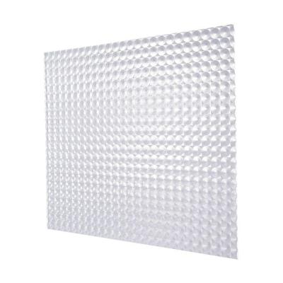 2 ft. x 4 ft. Acrylic Clear Premium Prismatic Lighting Panel