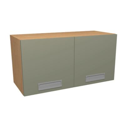 Home Decorators Collection 30x12x12 in. Genoa Wall Cabinet with 2 Soft Close Doors in Almond