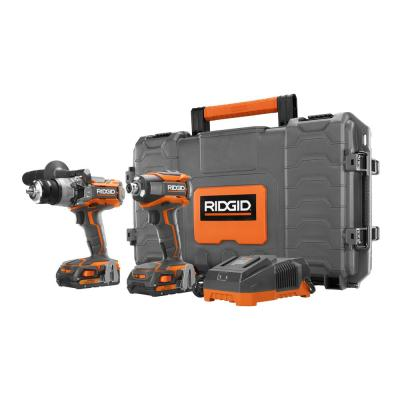RIDGID GEN5X 18-Volt 1/2 in. Hammer Drill/Driver and 1/4 in. Impact Driver Kit with Hard Case