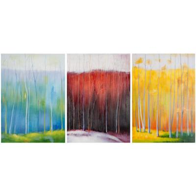 "28 in. x 20 in. ""Forest Rainbow"" Wall Art"