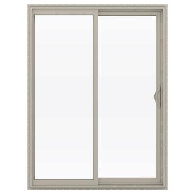 Jeld wen 60 in x 80 in v 2500 series vinyl sliding low e for Sliding glass doors jeld wen