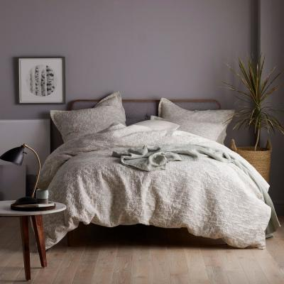 Odin Geometric 200-Thread Count Cotton Reversible Duvet Cover