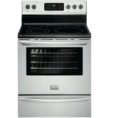 Frigidaire Gallery 5.4 cu. ft. Smoothtop Electric Range with Self-Cleaning Oven in Stainless Steel