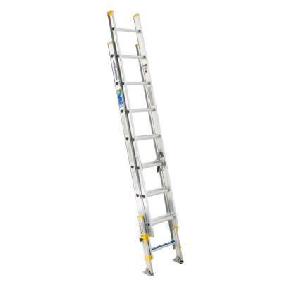 16 ft. Aluminum D-Rung Equalizer Extension Ladder with 225 lb. Load