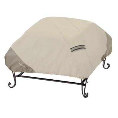 Belltown 40 in. Sidewalk Grey Square Patio Fire Pit Cover