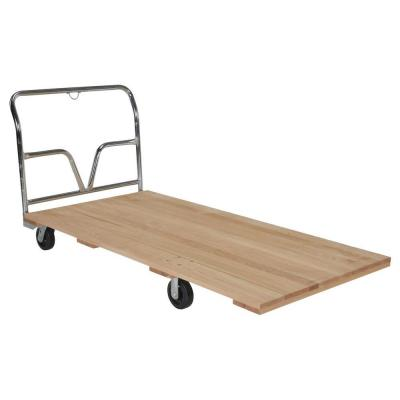 1,600 lb. Capacity 36 in. W x 72 in. L Hardwood Platform Truck Product Photo