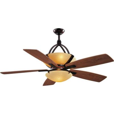 Hampton Bay Miramar 60 in. Weathered Bronze Ceiling Fan-AC374-WB - The ...