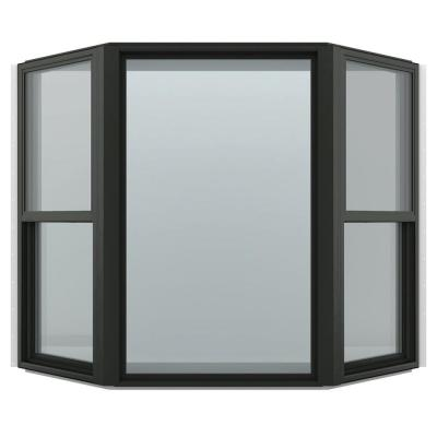 73.5 in. x 61 in. V-4500 Series Bay Vinyl Window - Bronze Product Photo