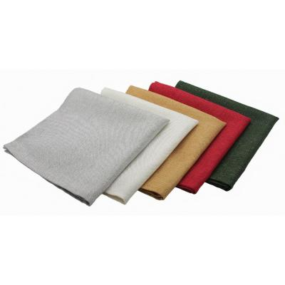 Gala Glistening 20 in. x 20 in. Easy Care Solid Color Napkins (Set of 4)